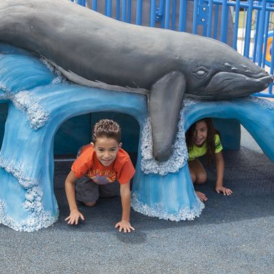 Our architects will design the perfect themed playground for you.
