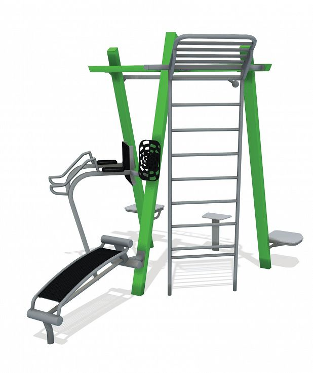 THRIVE 250 Outdoor Fitness Gym