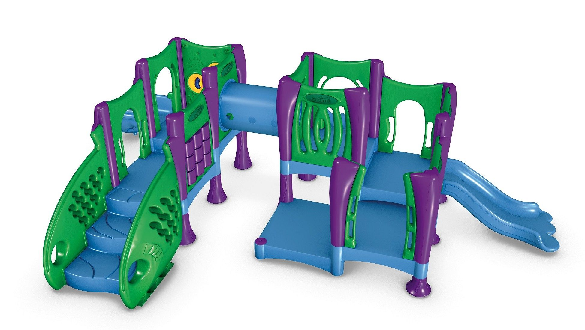 Toddler 7 Preschool Playground Equipment