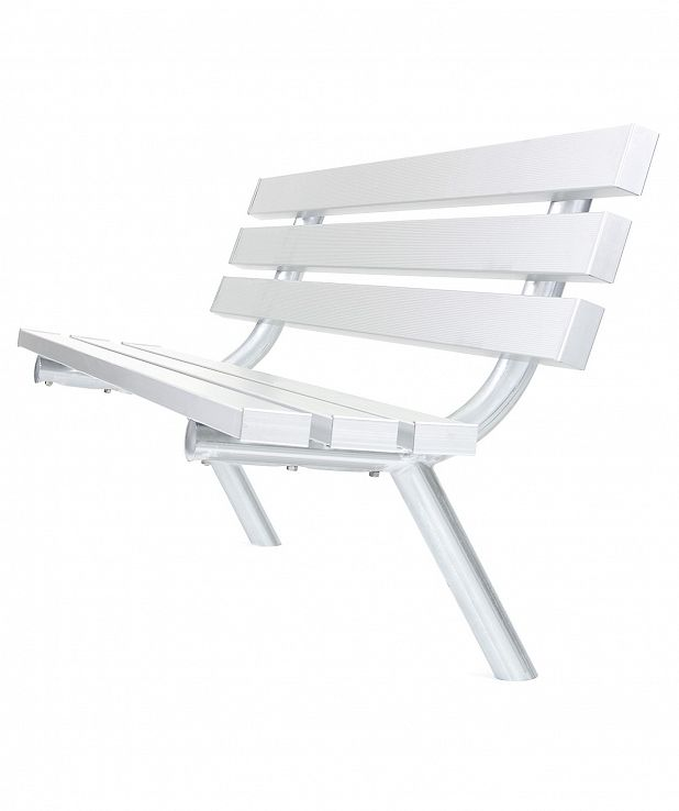 Welded Leg Aluminum Bench