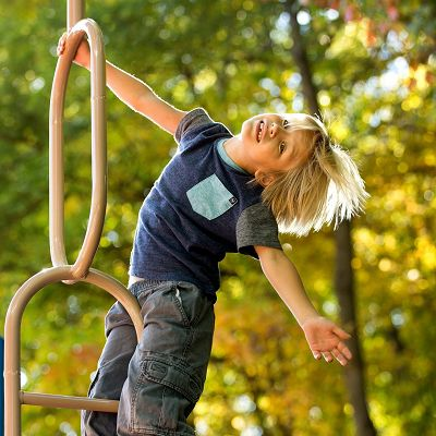 PowerScape features preschool playground equipment that can stand up to tons of little foot traffic.
