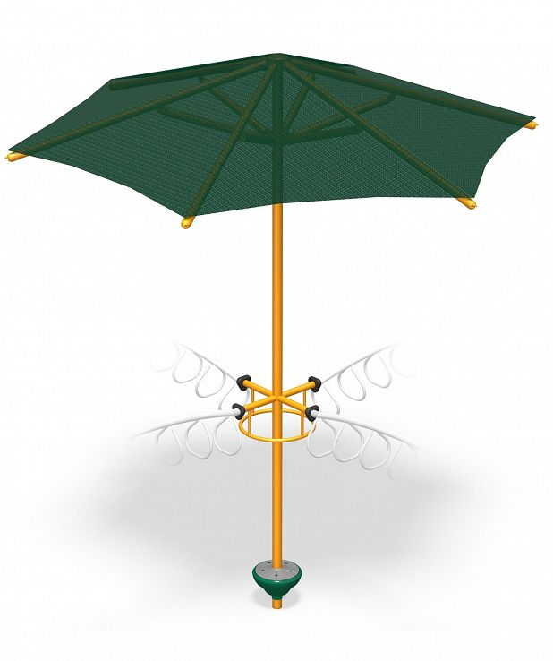 4-Way X-Pod Step with Umbrella
