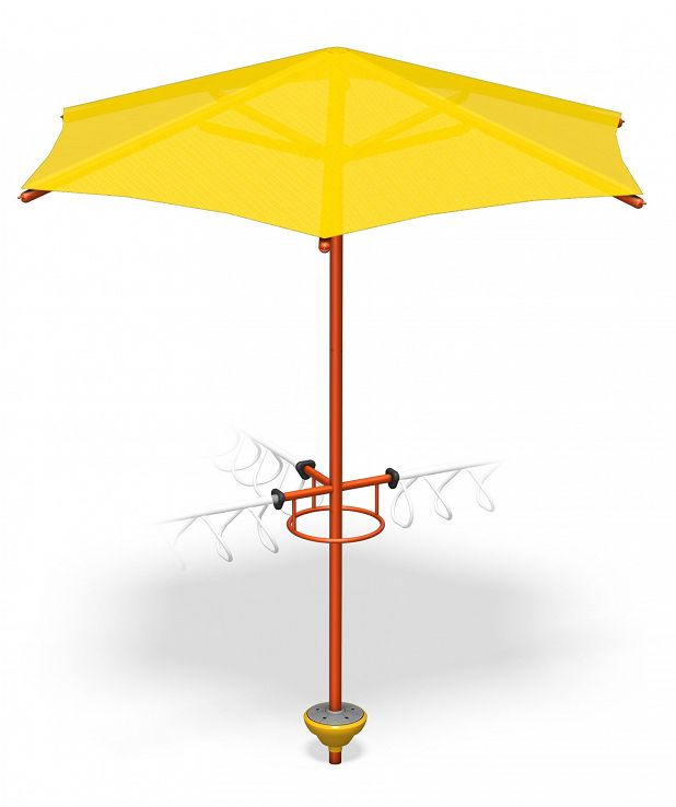 90° 3-Way X-Pod Step with Umbrella