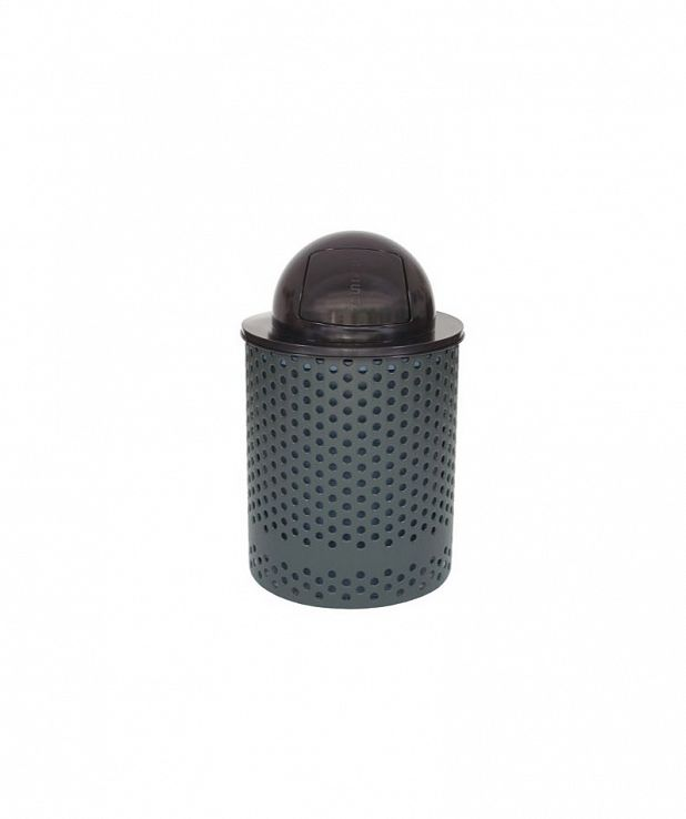 Tuffclad Series Litter Receptacle with Dome Cover