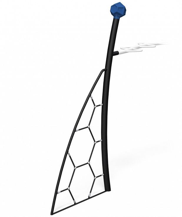 Bow Frame with Hex Net
