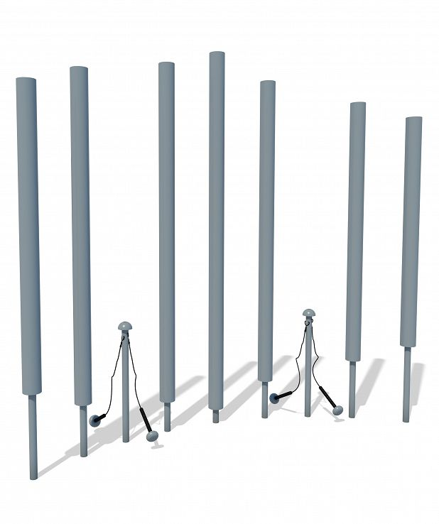 Harmonic Chimes - Set of 7