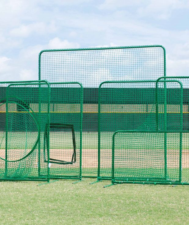 Varsity Protective L Shaped Pitchers Net