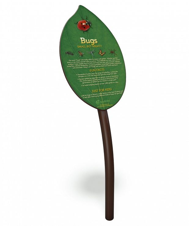 Bugs Fun Facts Sign
