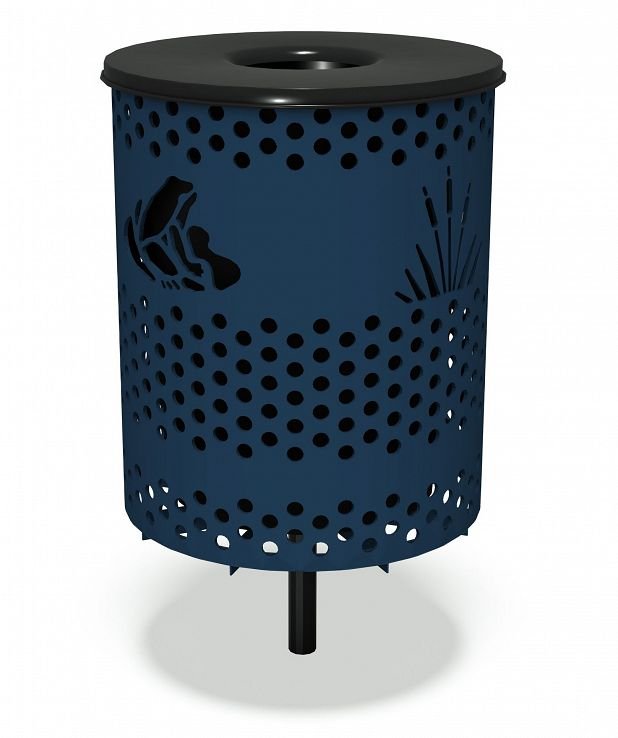 Pond Life Trash Receptacle