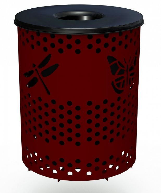 Bug Trash Receptacle