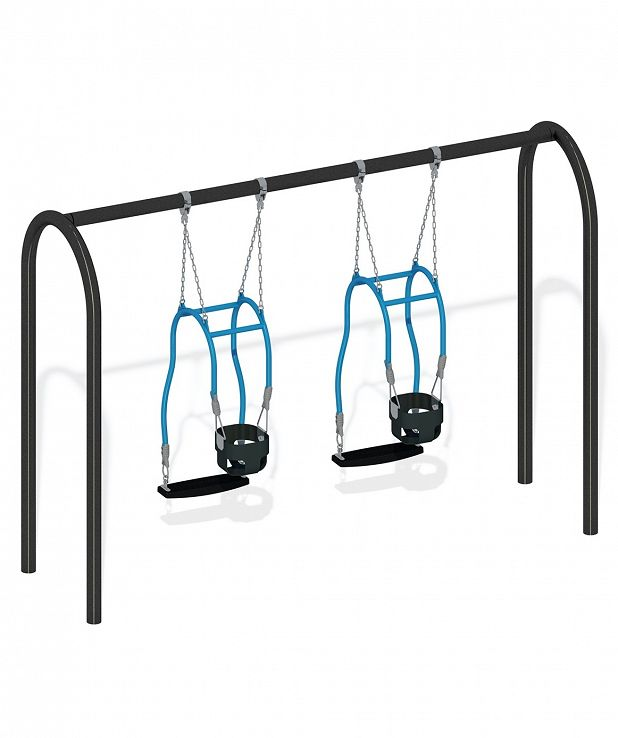 PowerScape ADA Swing with Dual Expression Swings