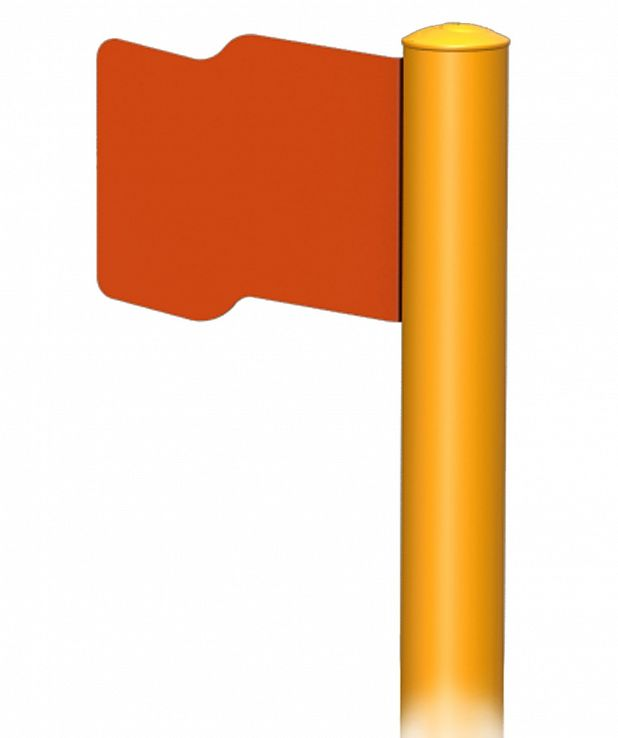 Flag Post Extension