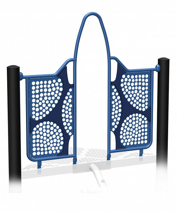 Wide Deck Climber Archway 3D