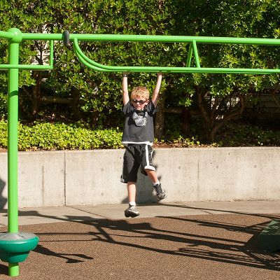 Adding an outdoor playground to our pocket park will ensure kids use the parkette for years to come.