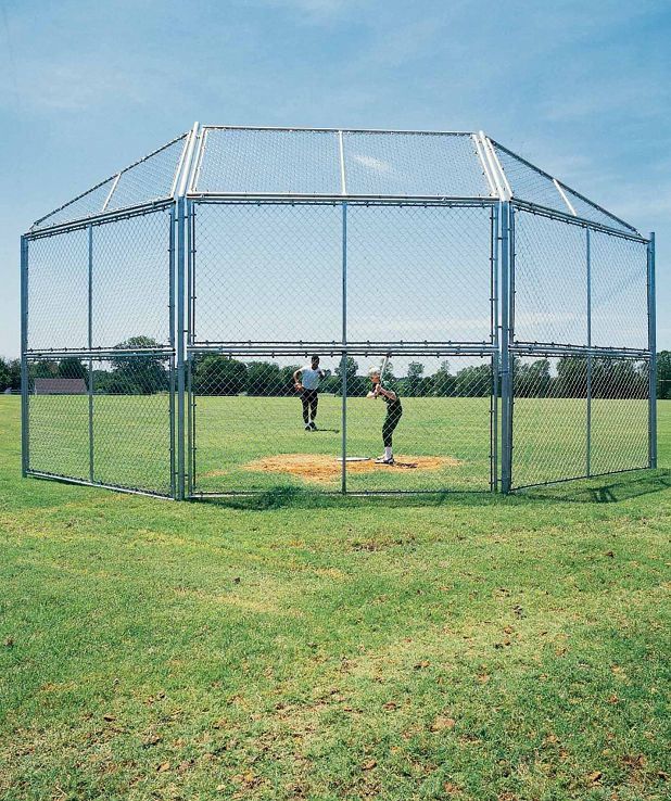 Chain Link Backstop
