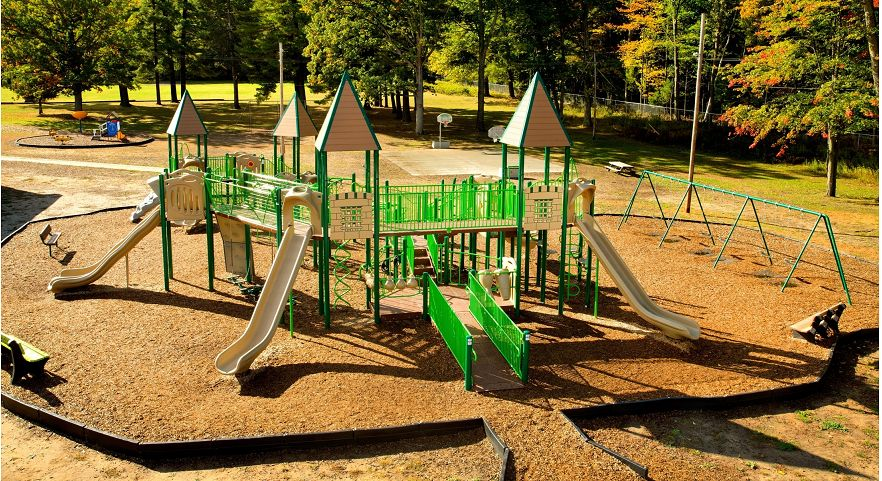 Castle Themed Elementary School Playground Gametime