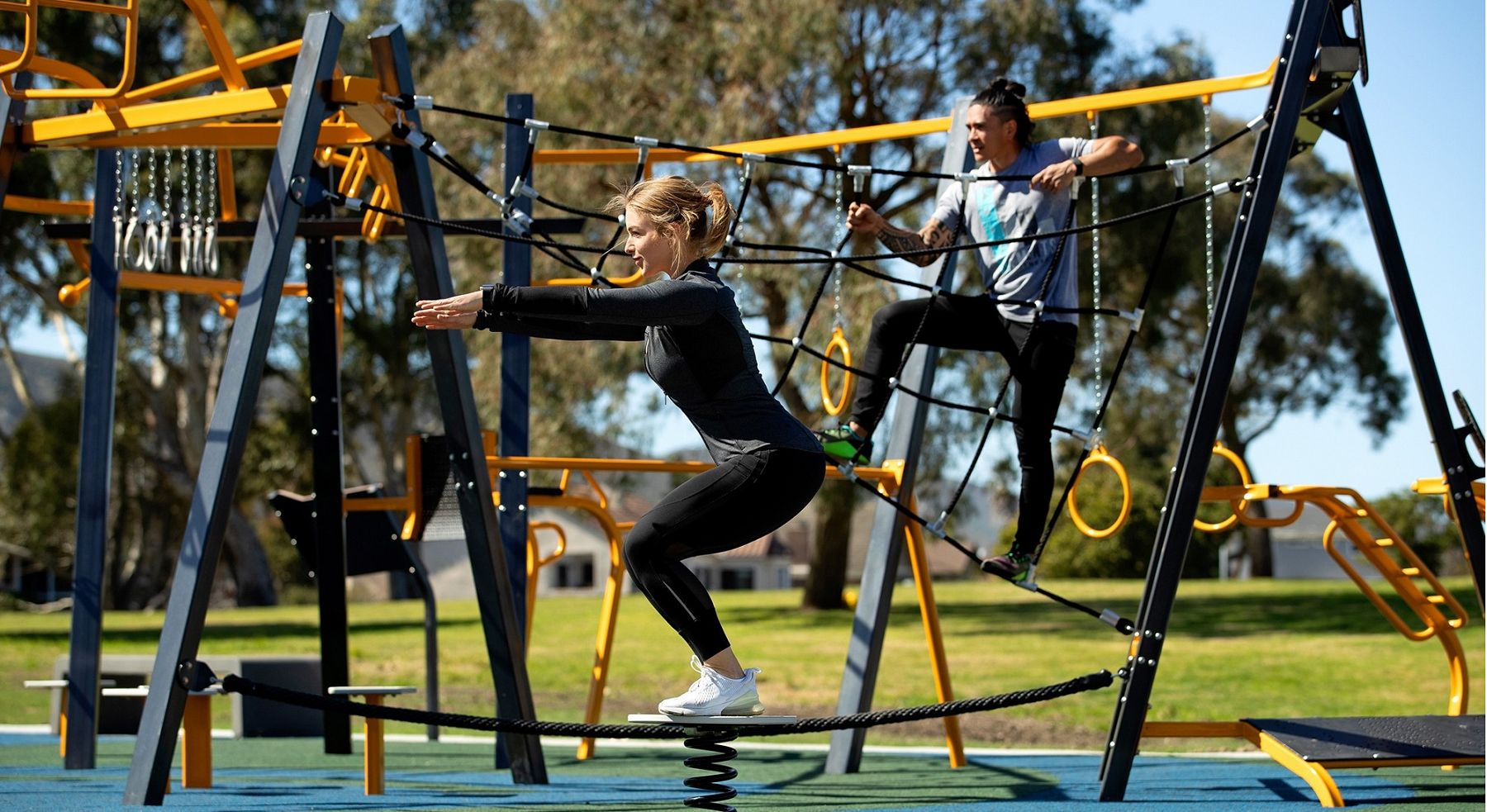 THRIVE 900 and GTfit Outdoor Fitness Equipment