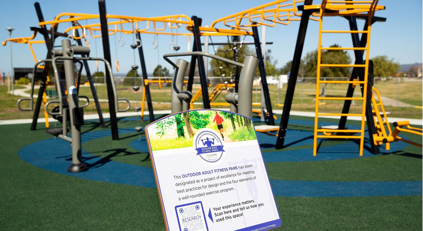 Outdoor Fitness National Demonstration Site by GameTime