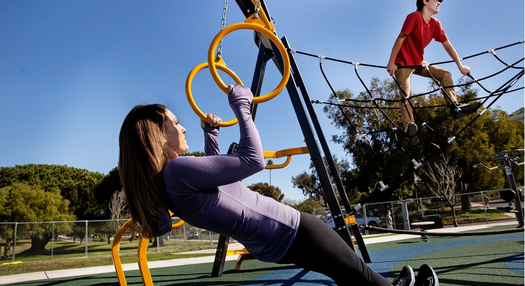 Outdoor Fitness and Workout Equipment by GameTime