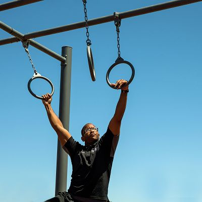 GTfit outdoor gym equipment is built to withstand the elements.