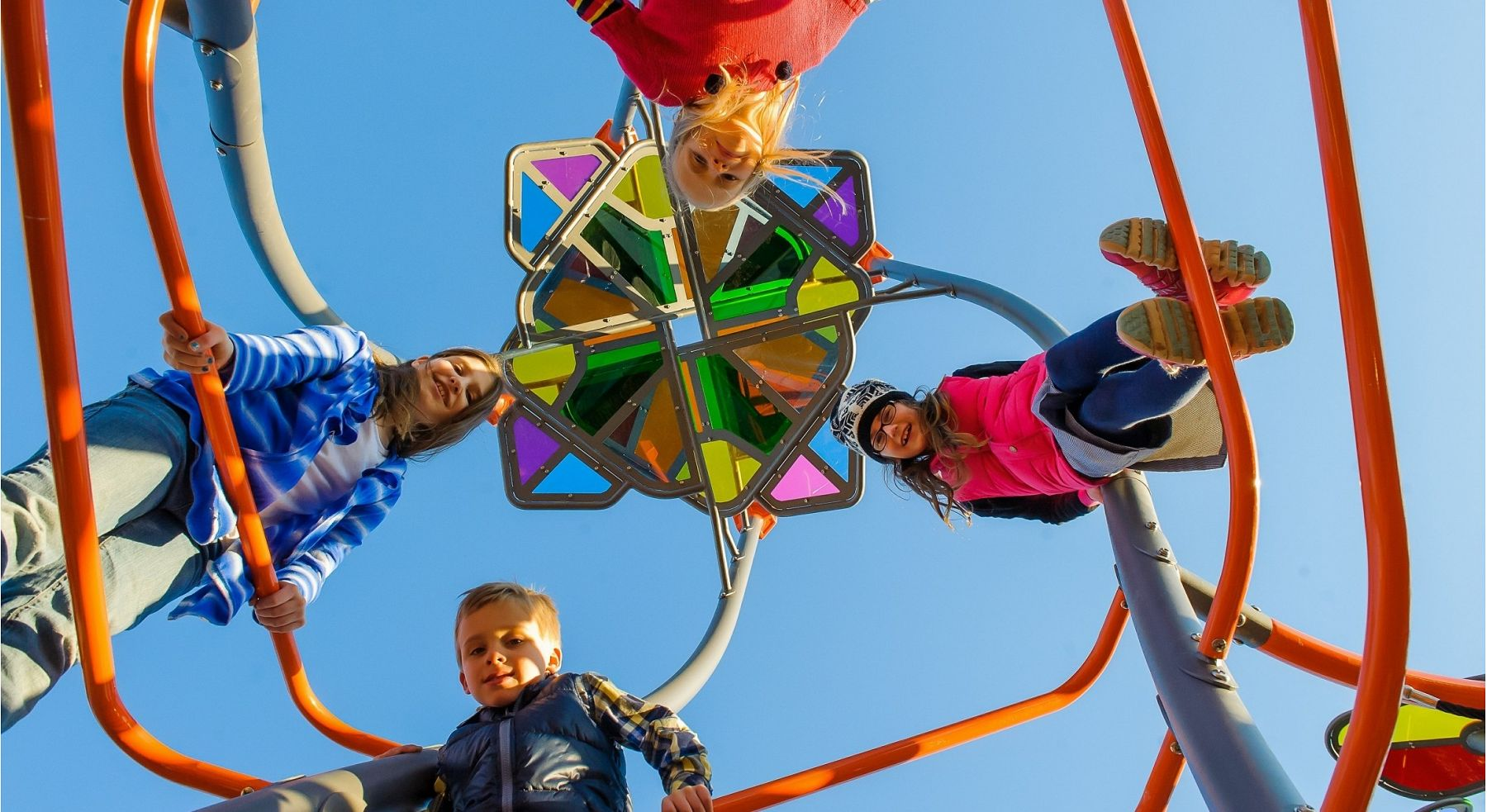 Kids on Helix Tower