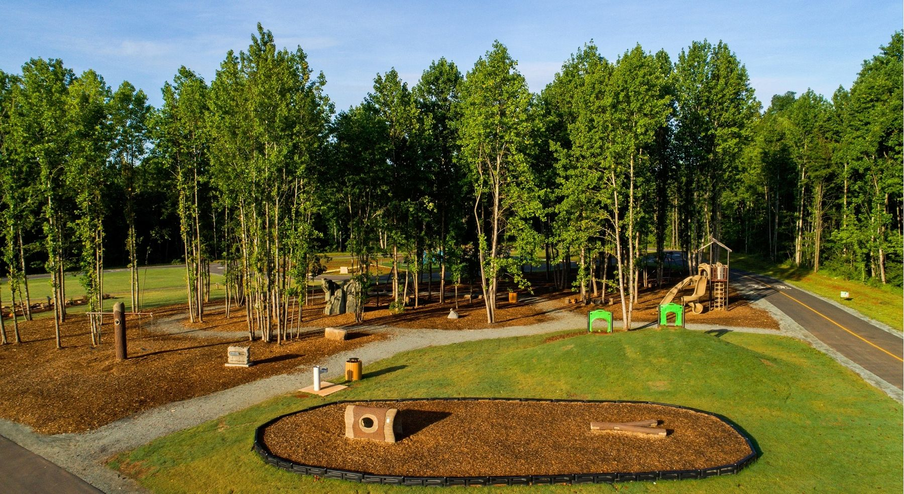 Outdoor Play Areas Natural