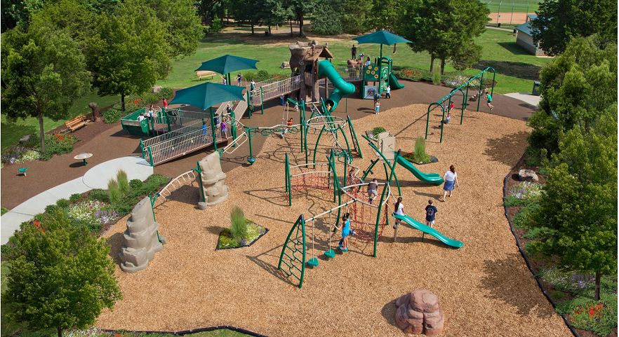 Incredible Inclusive Tree House Themed Playground Gametime Download Free Architecture Designs Scobabritishbridgeorg
