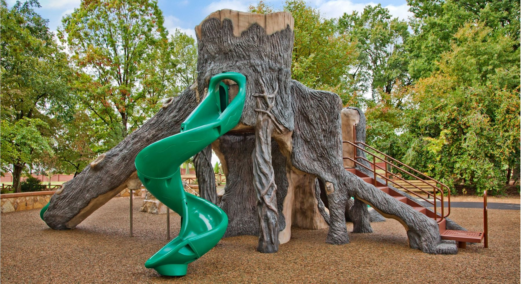 Natured Themed Custom Playground Gametime