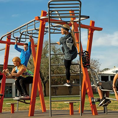 Thrive 174 Outdoor Fitness Gametime