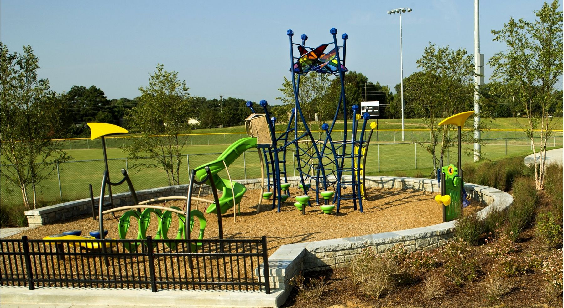 Artful Amp Exercise Friendly Playground Gametime