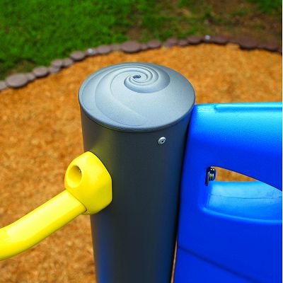 Our patented DirectBolt connections mean your outdoor playground equipment will be easy to construct and stand up to the elements.