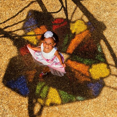 Cast colorful shadows with IONiX play systems by incorporating Shadow Play panels.