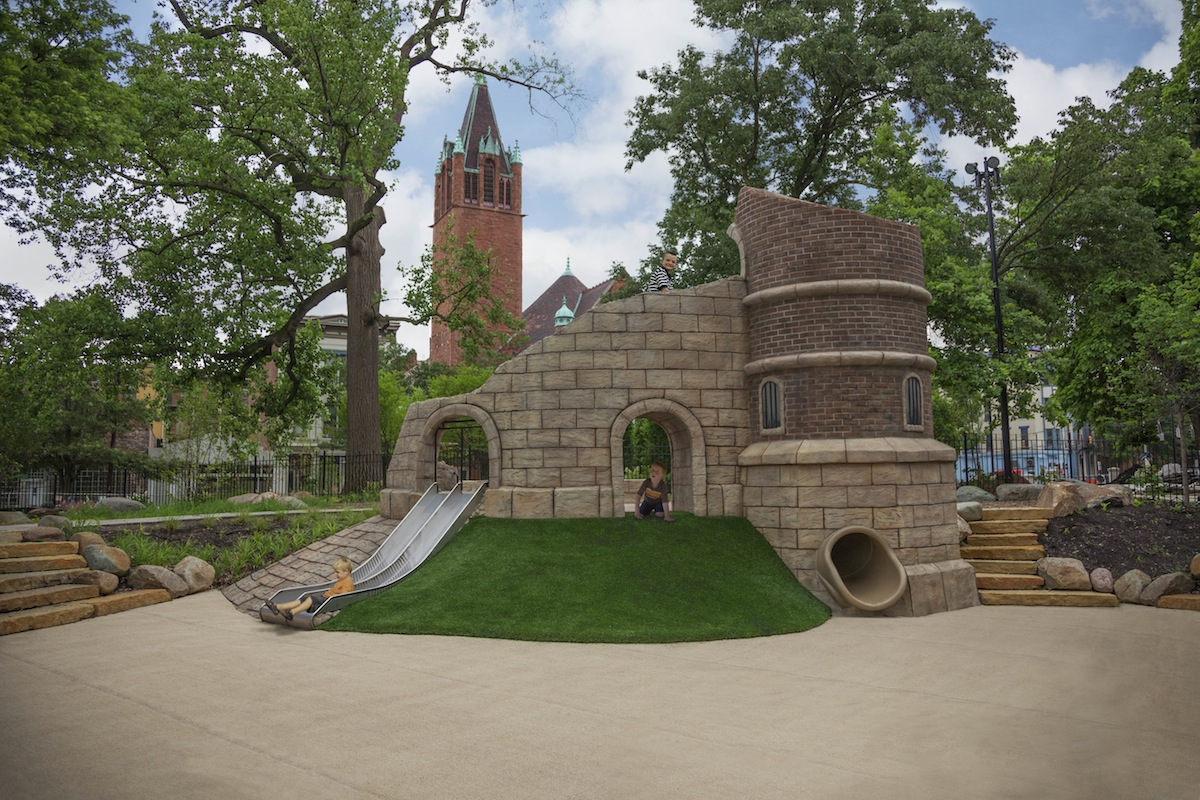 GameTime Creates Majestic Play Space to Symbolize the Rich Heritage of the Queen City