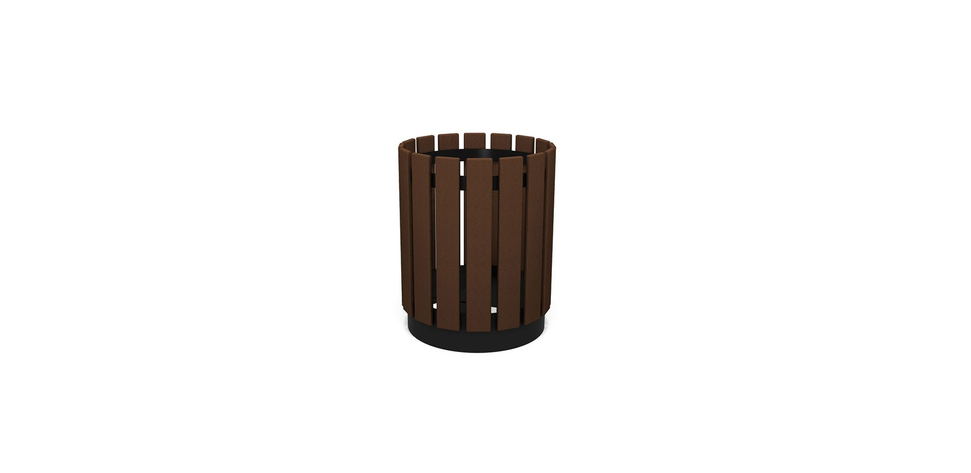 Timbers Trash Receptacle
