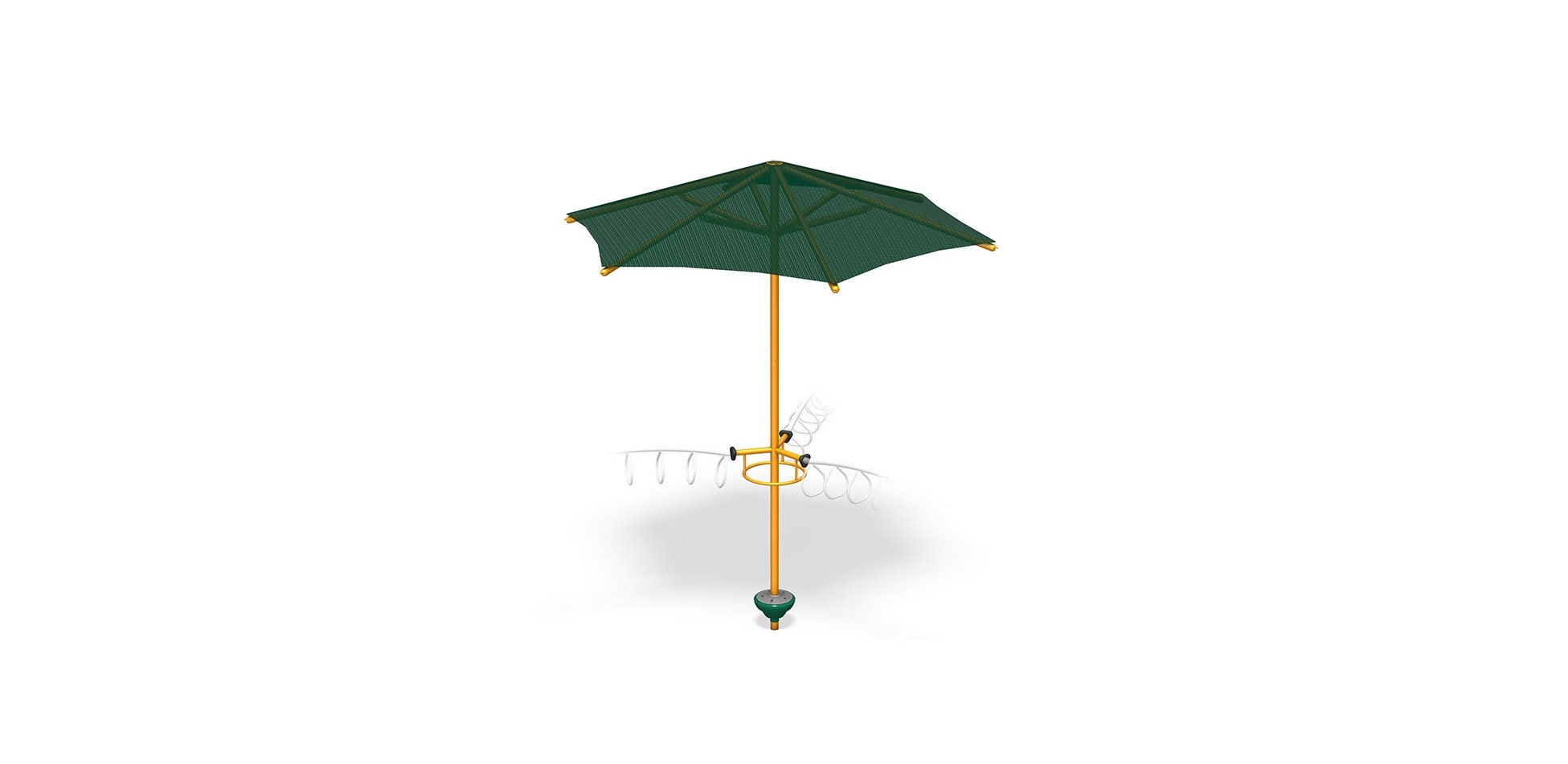 3-Way X-Pod Step with Umbrella