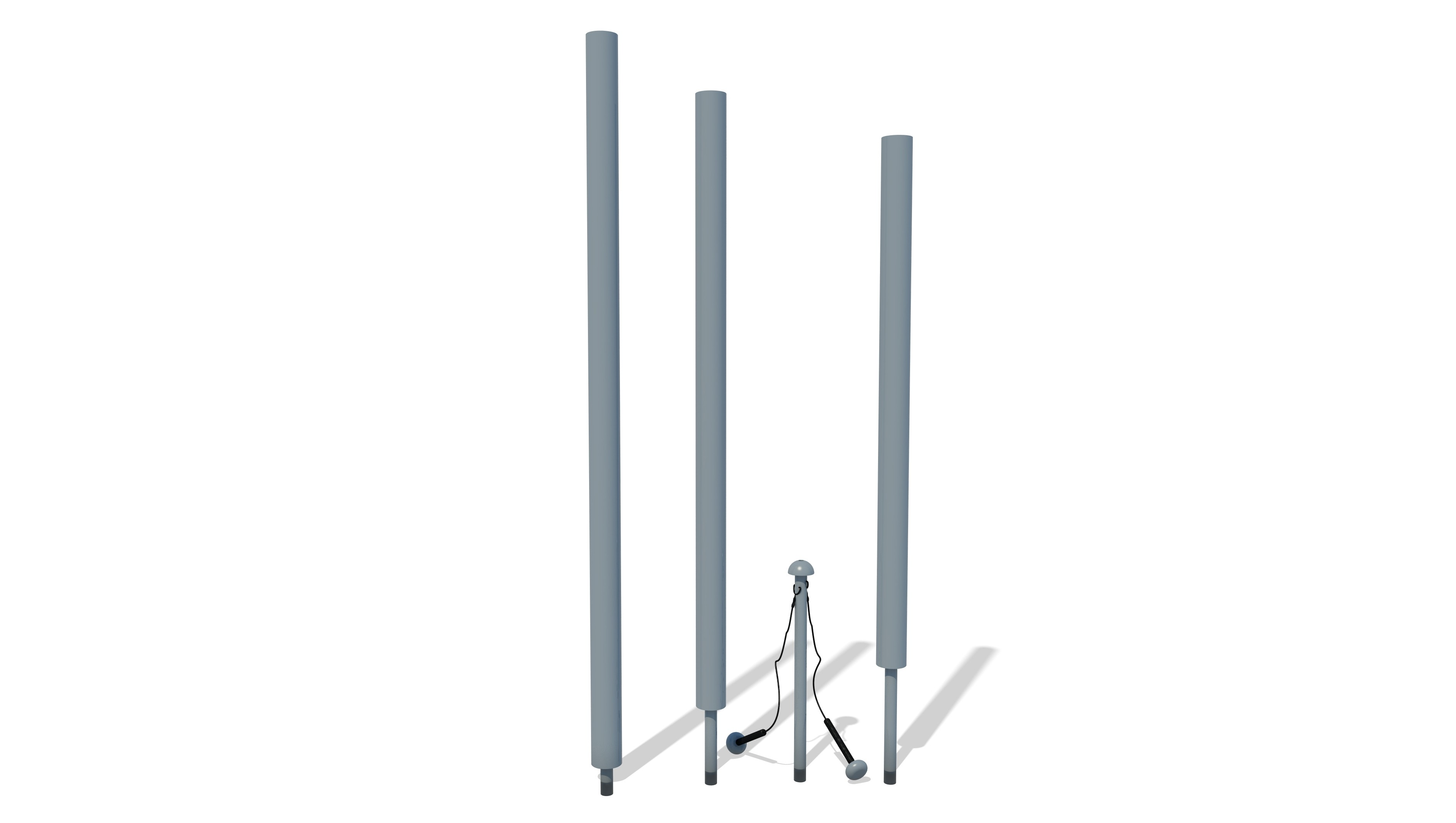 Harmonic Chimes - Set of 3