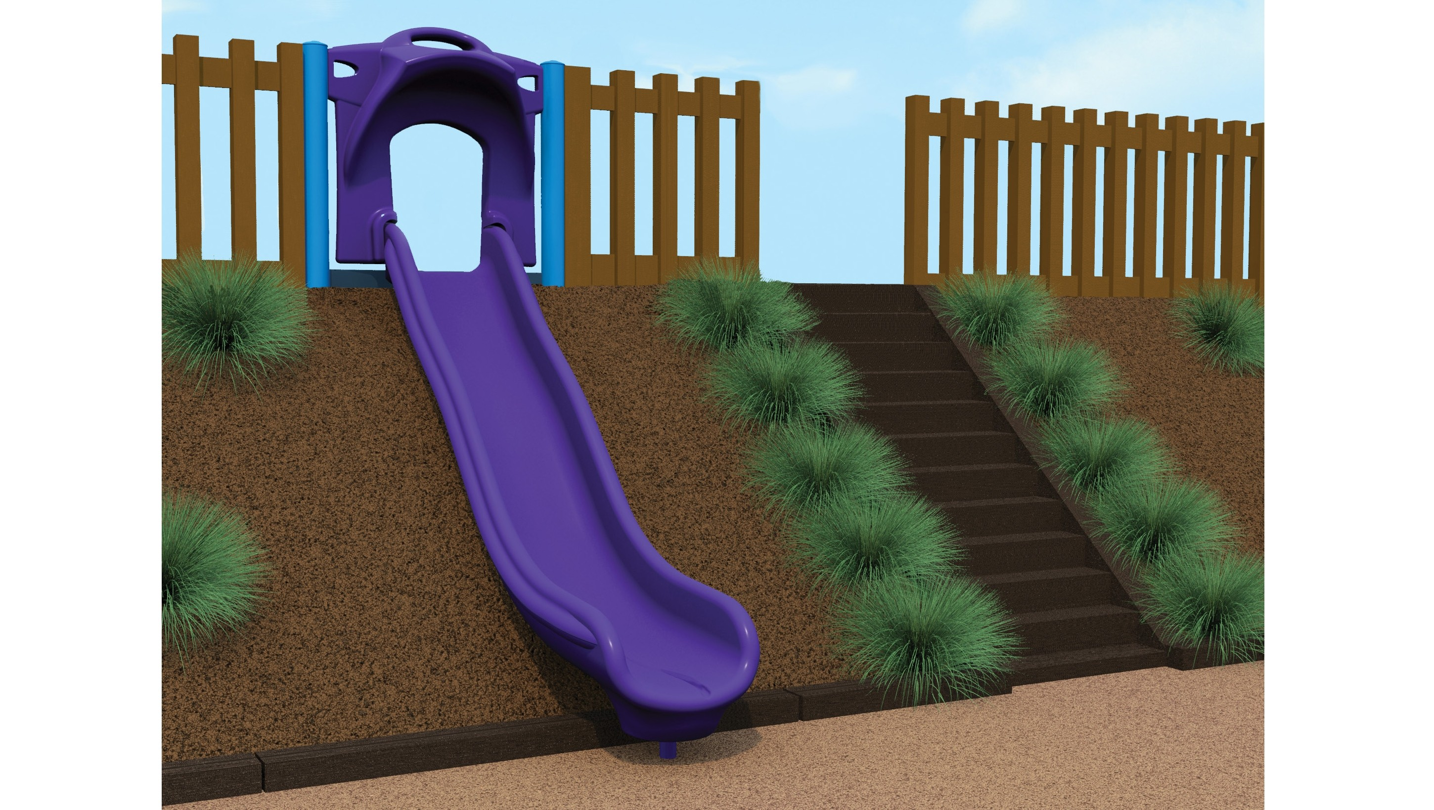 Hillslide Zip Slide - Wave Zip Slide