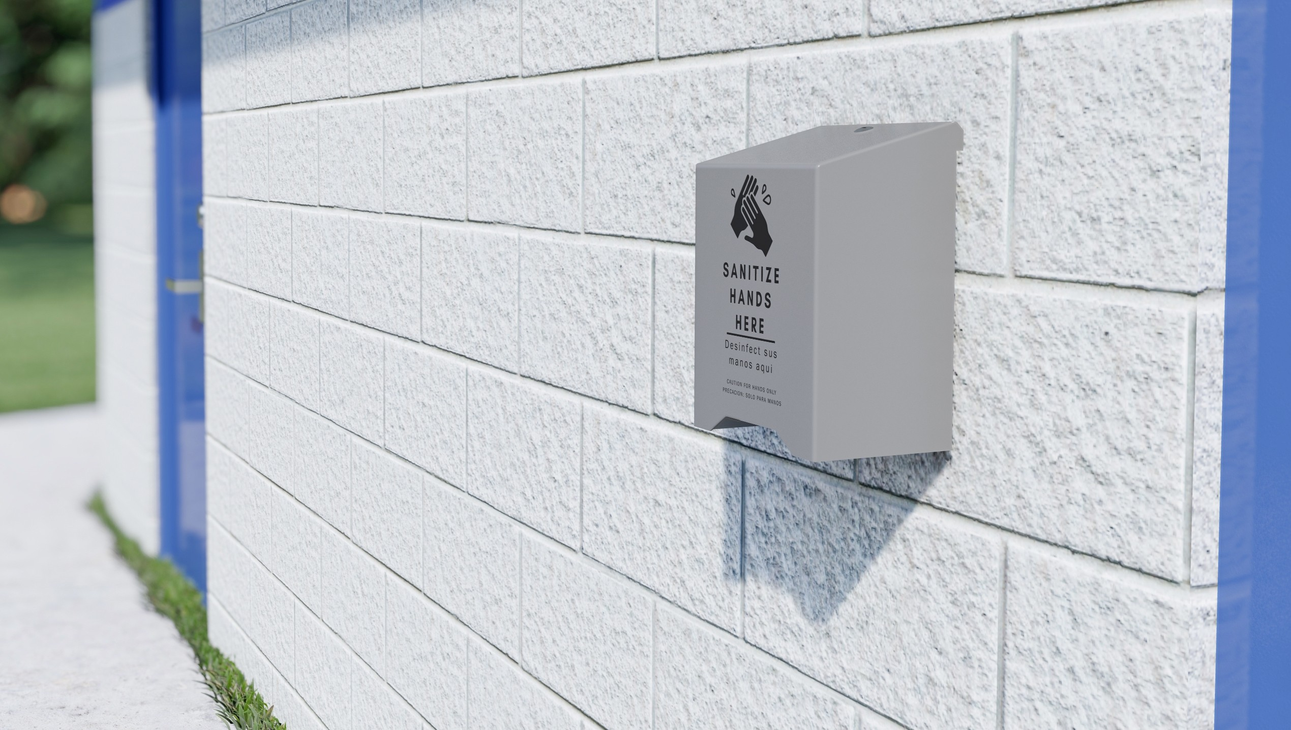 Hand Sanitizer - Touchless, Wall Mount