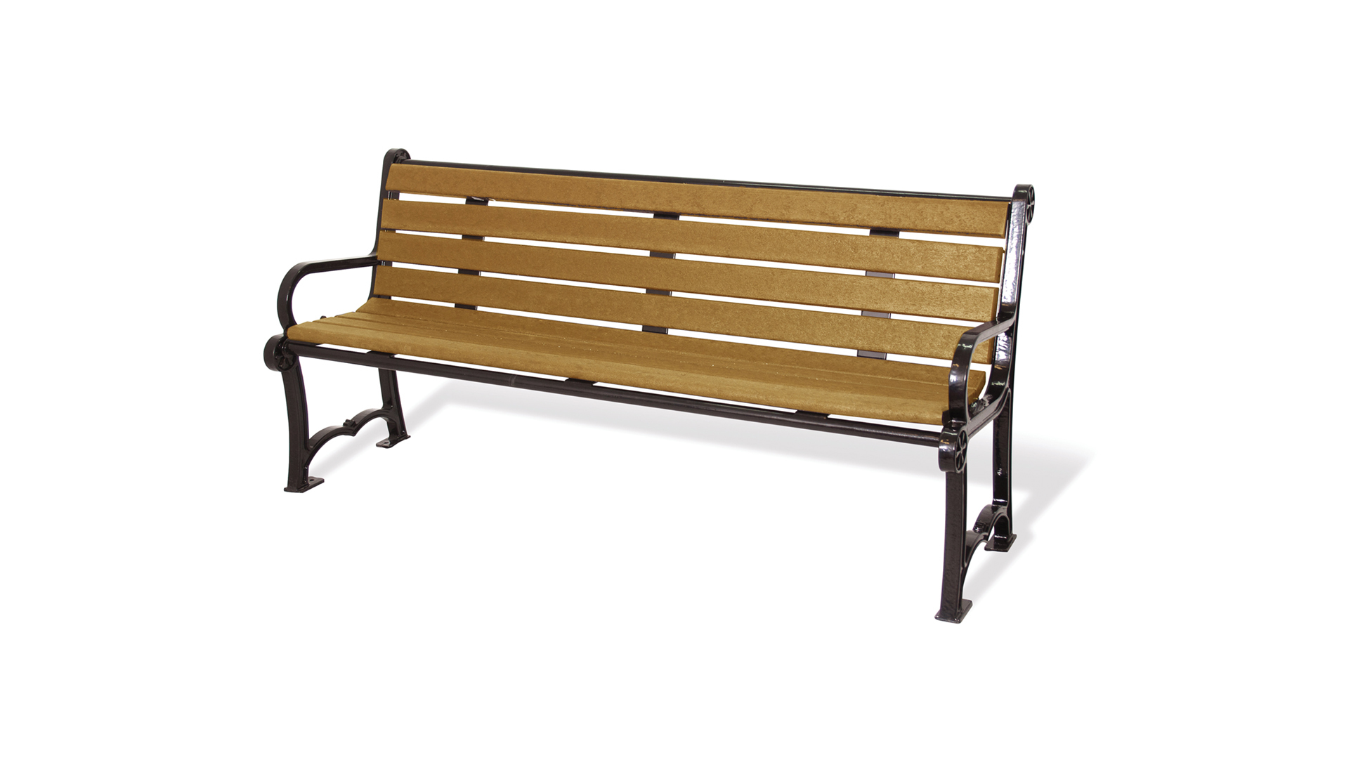 Series 1100 Bench, Recycled Plastic