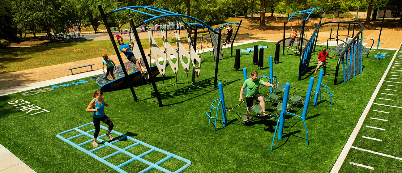 Outdoor Fitness Equipment and Commercial Playground Equipment