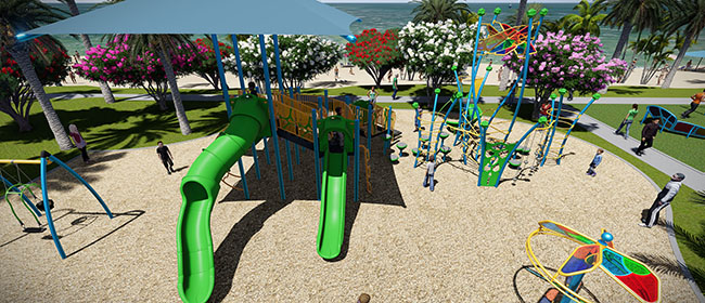 Advanced Rendering Tools will help you build the perfect commercial playground equipment.
