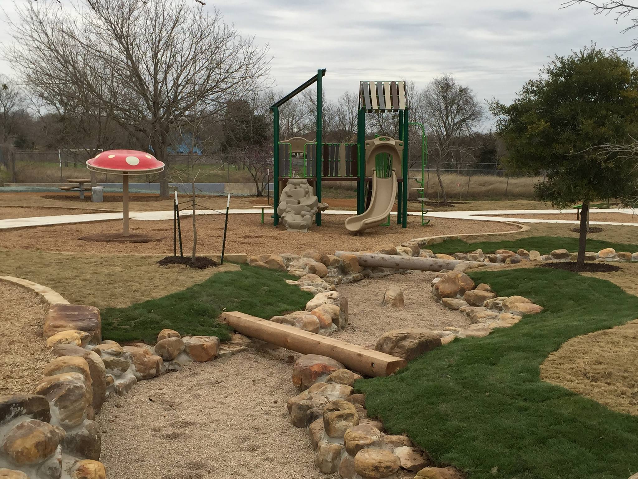 GameTime Brings Custom, Nature Play to Austin Neighborhood