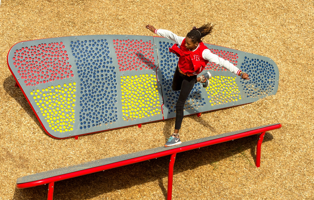 North Carolina School Takes Recess to the Next Level with GameTime Challenge Course