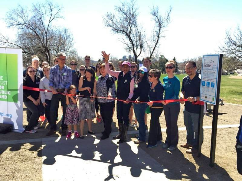 Zuni Park in Denver, Colo., recently opened a new outdoor exercise equipment zone.