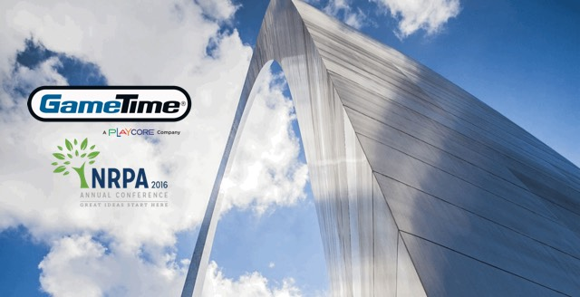 GameTime Sponsors Opening Reception at 2016 NRPA Conference and Expo