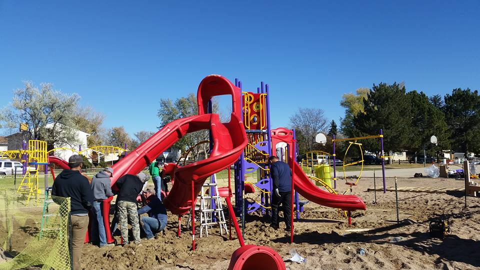 A School Playground Three Years in the Making