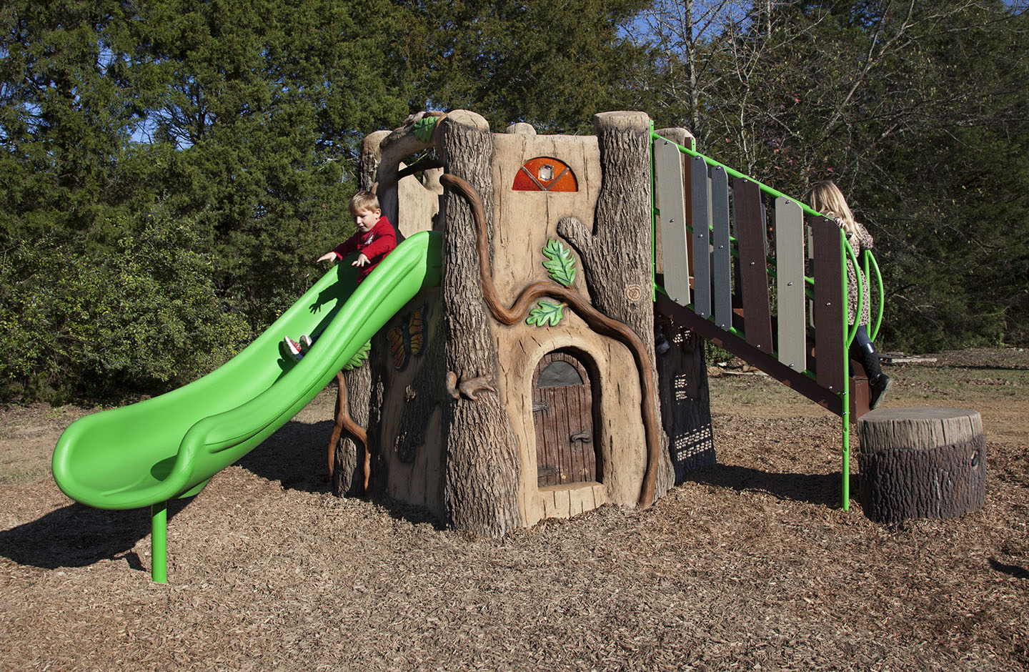 GameTime Introduces New Treehouse for Preschool Nature Playgrounds