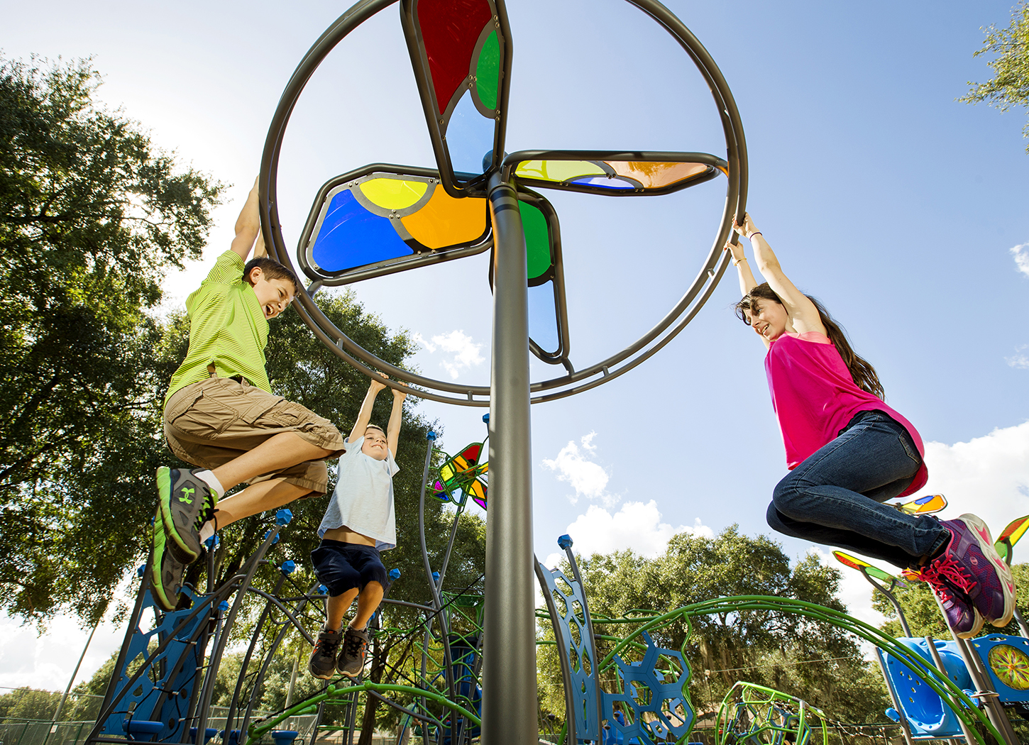 GameTime Breathes New Life into a Florida Park with Innovative Playground Equipment