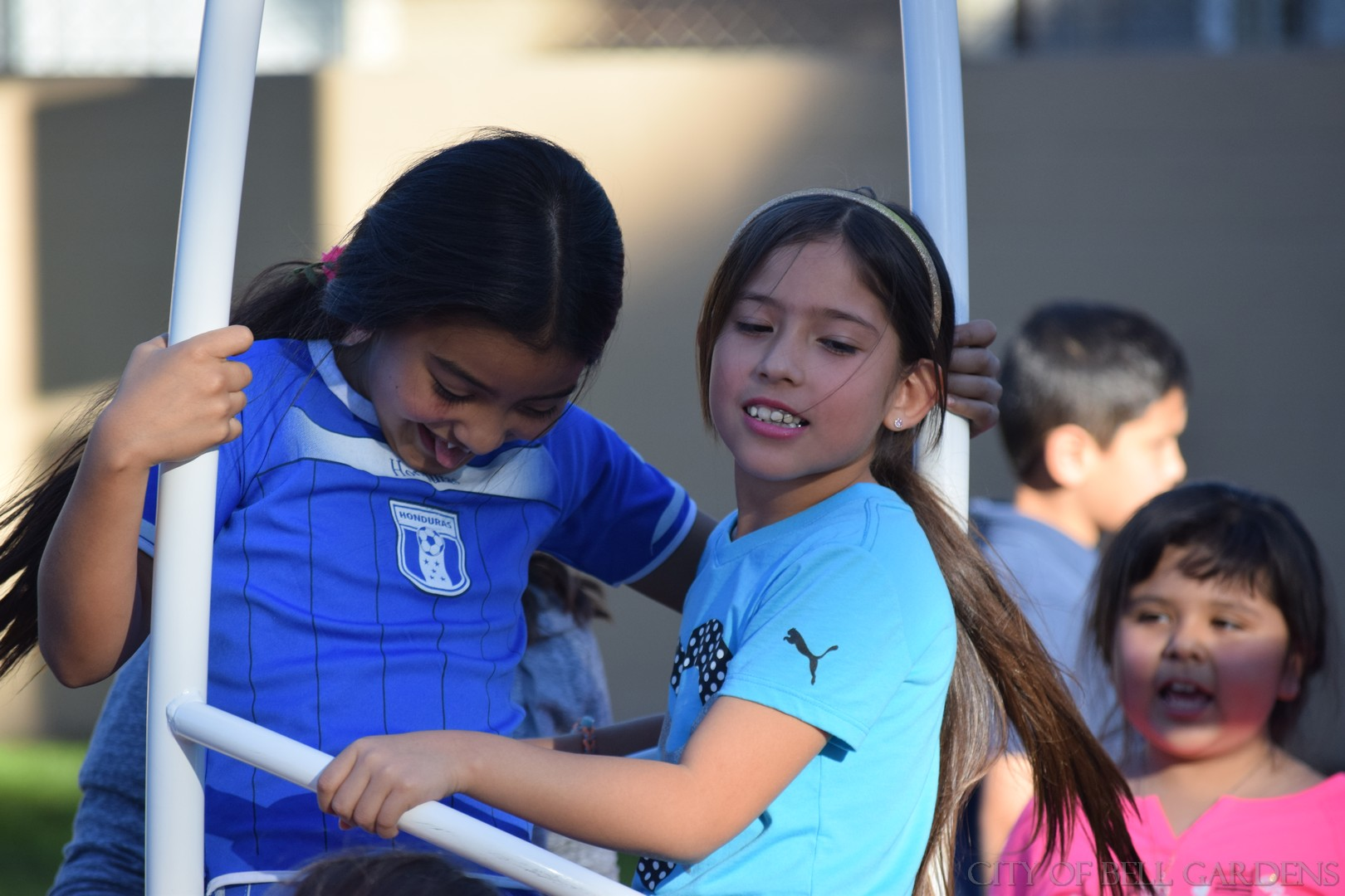 Grants Bring Californians 7 New Playgrounds