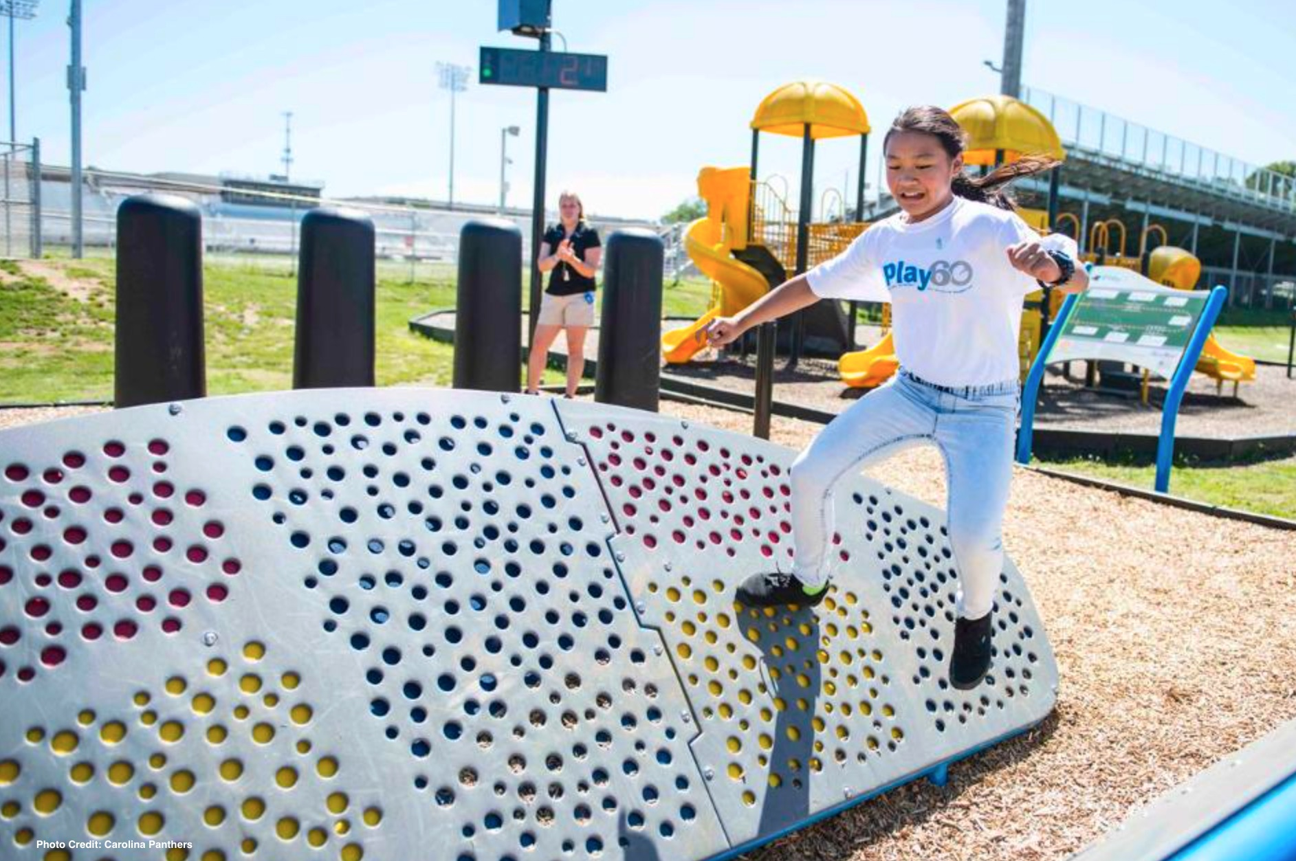 GameTime and Carolina Panthers Take School Recess to the Next Level